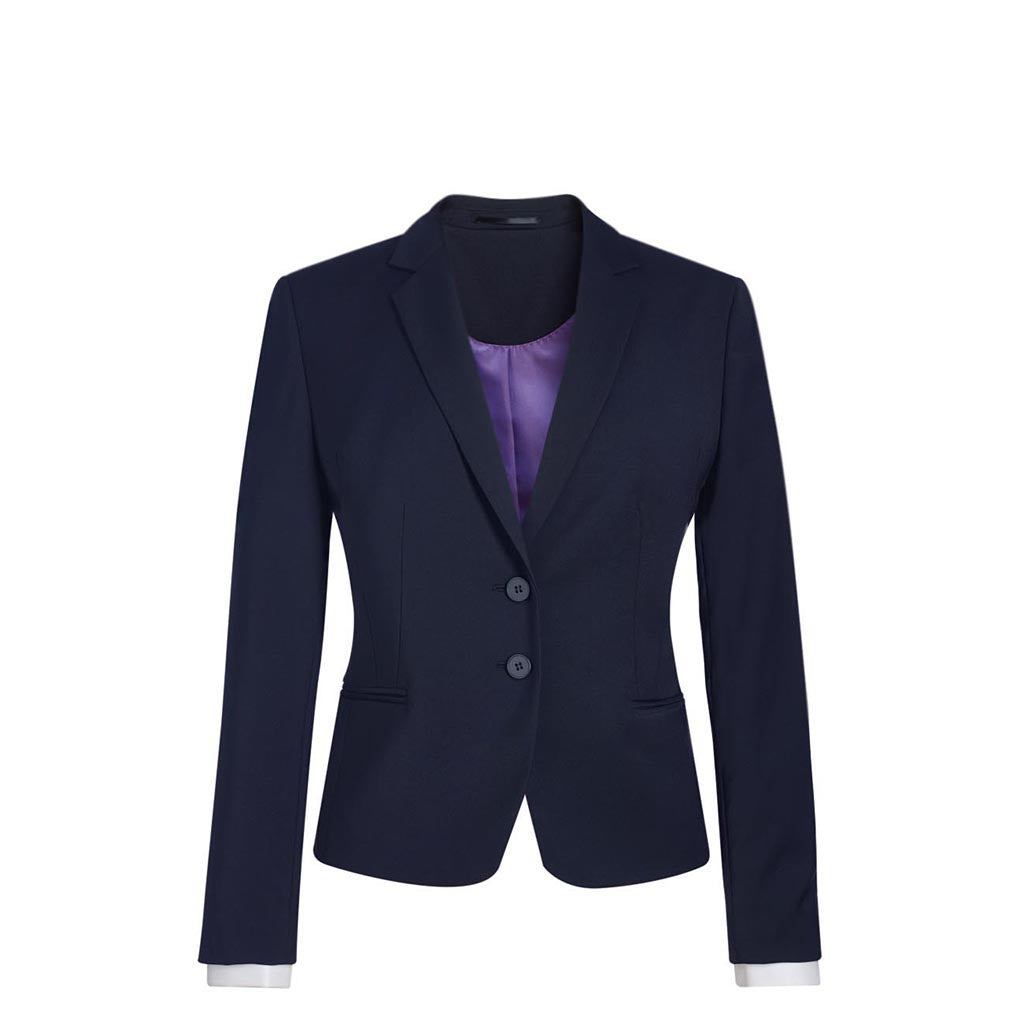 Calvi Slim Fit Jacket Navy