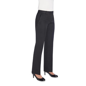Aura Straight Leg Trouser Charcoal