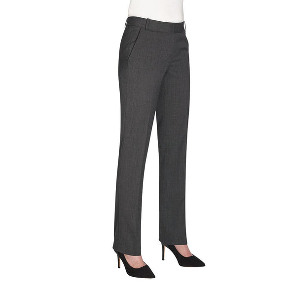 Astoria Slim Leg Trouser Mid Grey