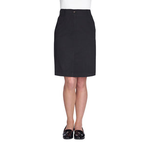 Austin Chino Skirt Black