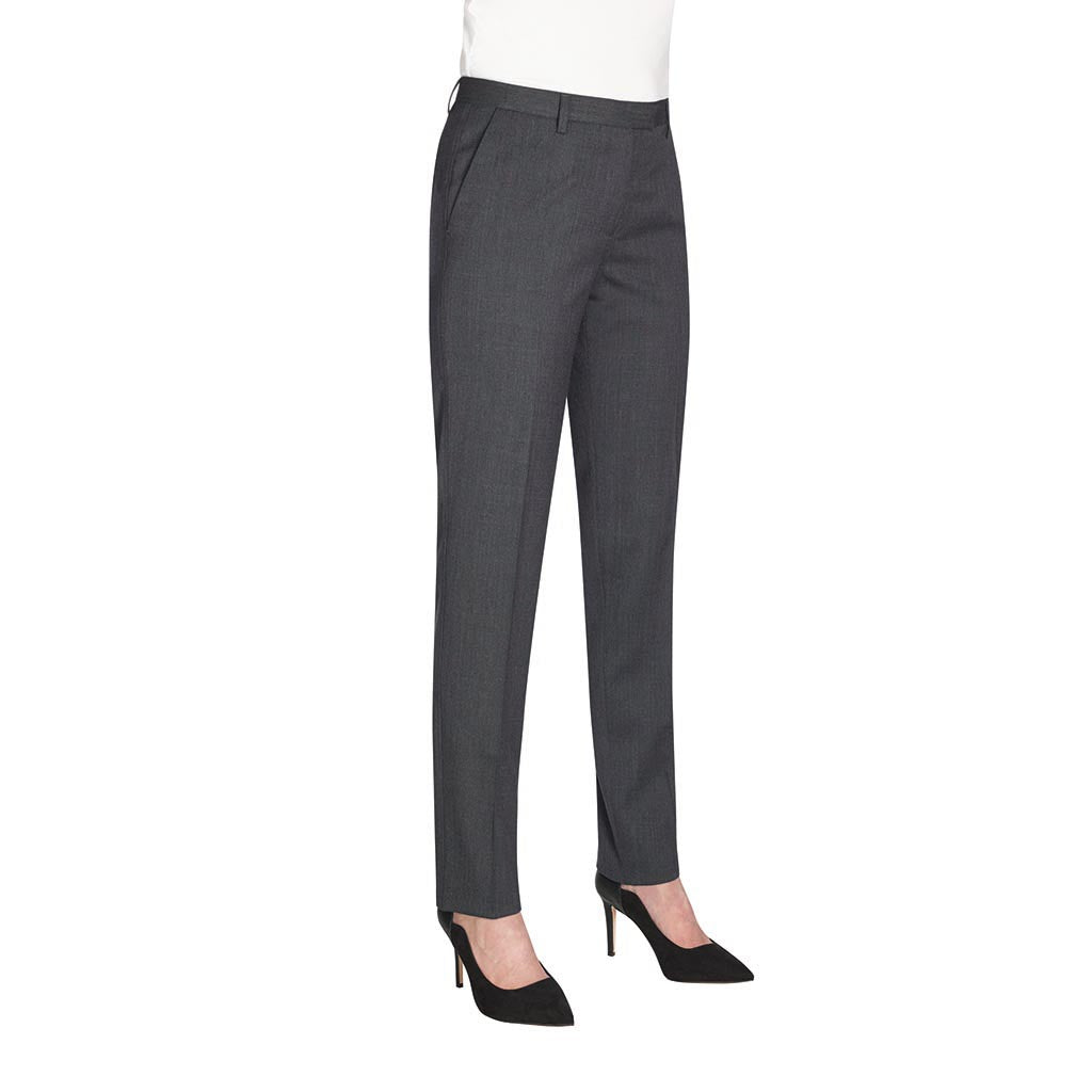 Hempel Slim Leg Trouser Mid Grey