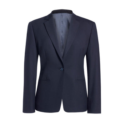 Cannes Tailored Fit Jacket Navy