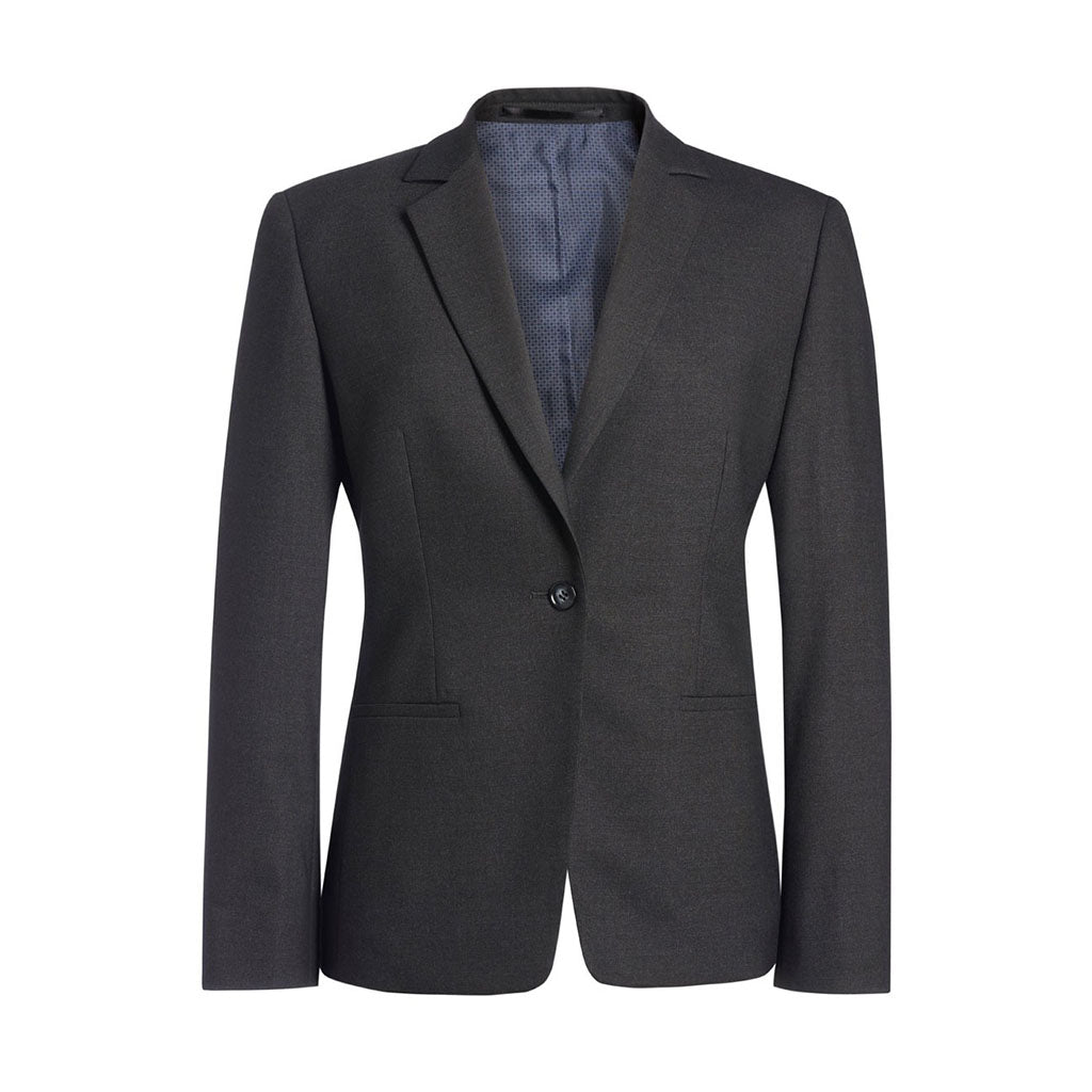Cannes Tailored Fit Jacket Charcoal