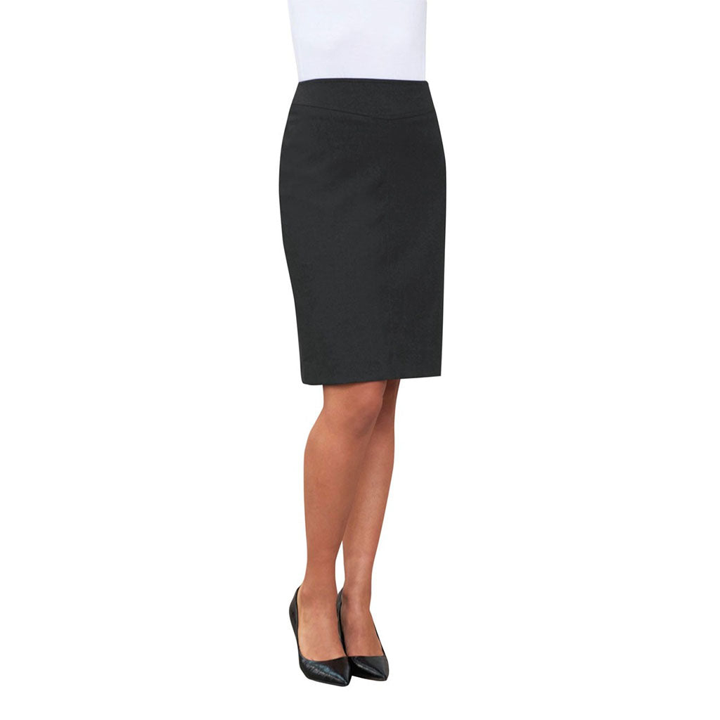 Lyon Straight Skirt Charcoal