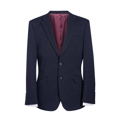 Phoenix Tailored Fit Jacket Navy P/Dot