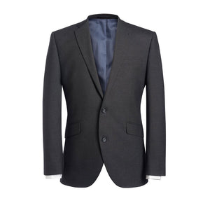 Dijon Tailored Fit Jacket Charcoal