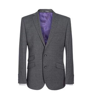 Cassino Slim Fit Jacket Light Grey