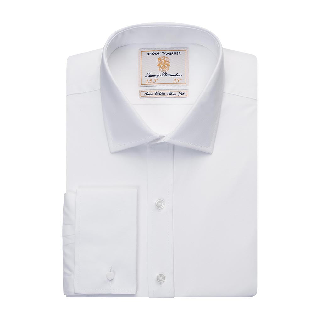Chelford Slim Fit Shirt Cotton Poplin