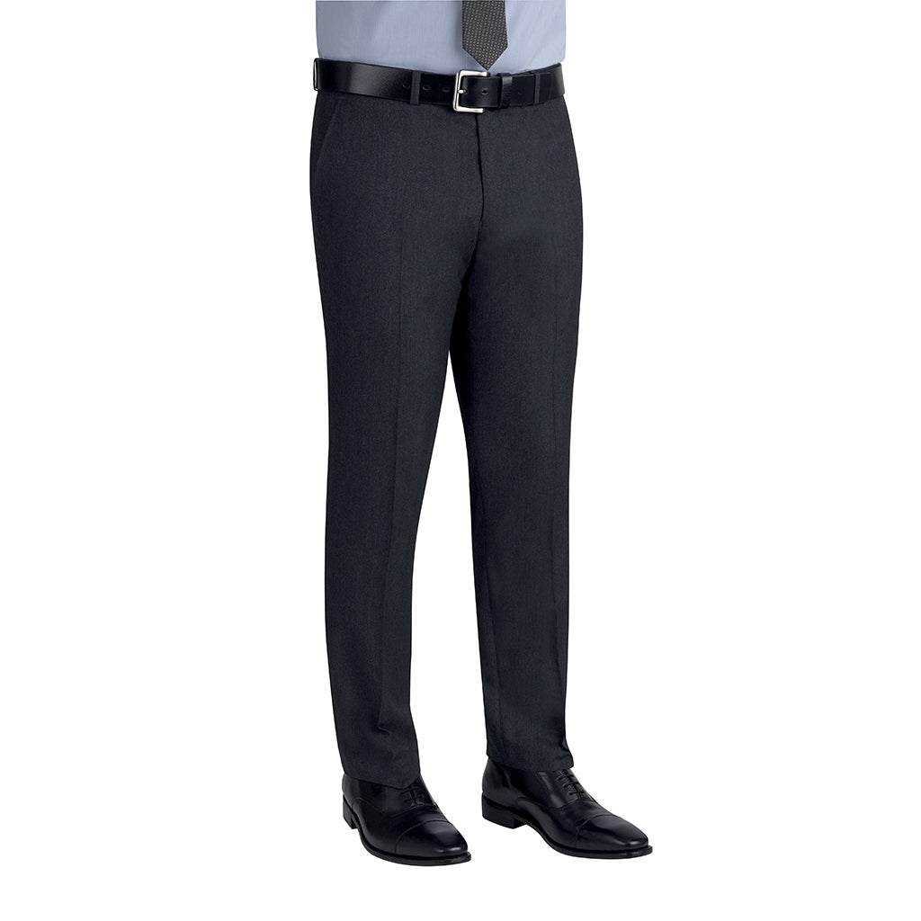 Cassino Slim Fit Trouser Charcoal