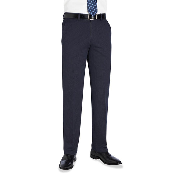 Phoenix Tailored Fit Trouser Navy