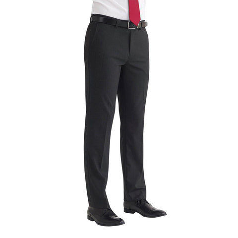 Monaco Tailored Fit Trouser Charcoal