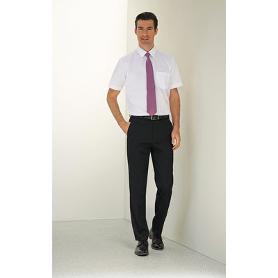 Apollo Flat Front Trouser Navy