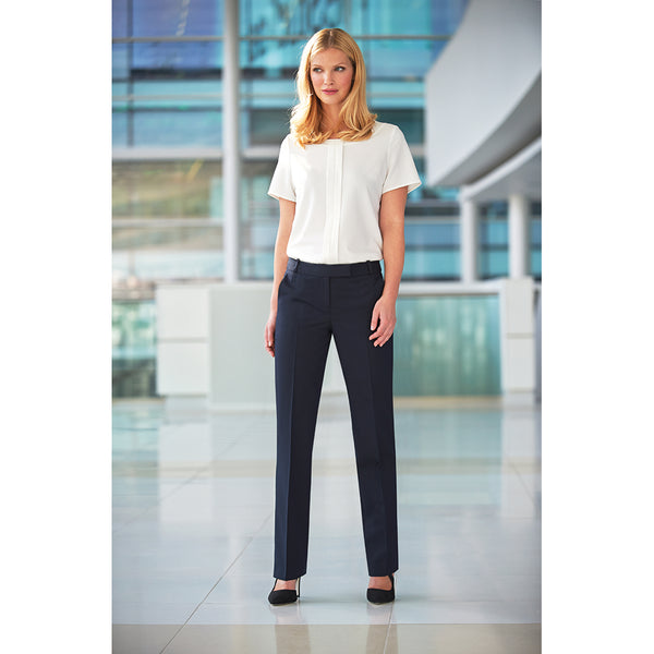Astoria Slim Leg Trouser Black