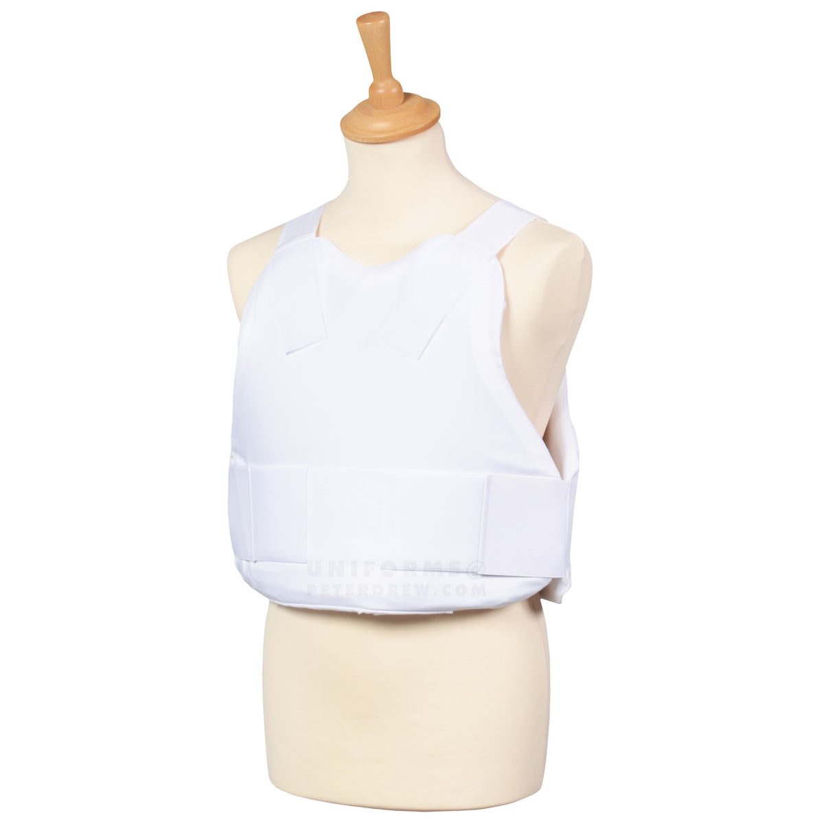 Covert Body Armour White - peterdrew.com  - 1