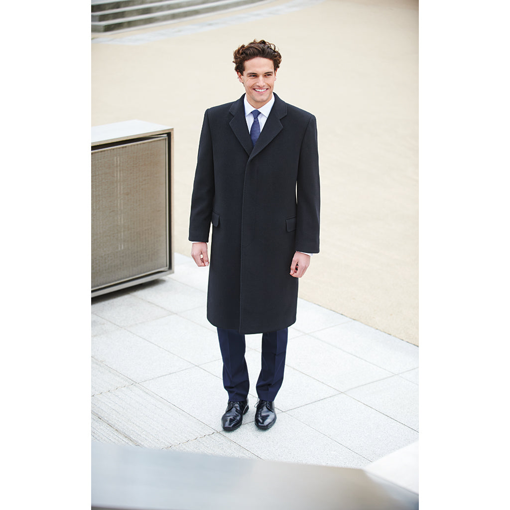 Men's Bond Overcoat Black