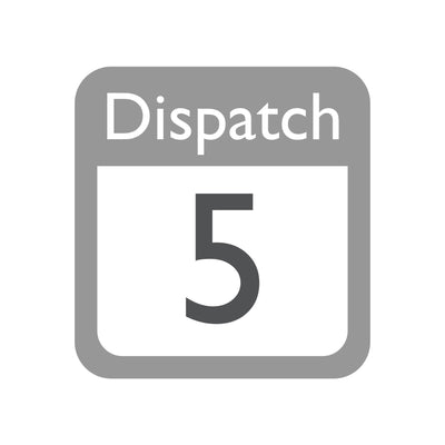 Dispatch time 5 to 10 working days