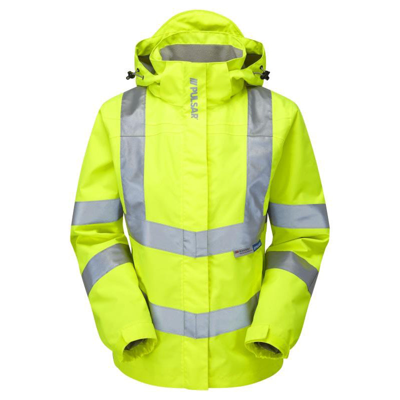 Pulsar Ladies Storm Coat Yellow