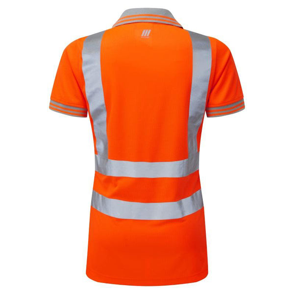 Pulsar Ladies Short Sleeve Polo Shirt Orange
