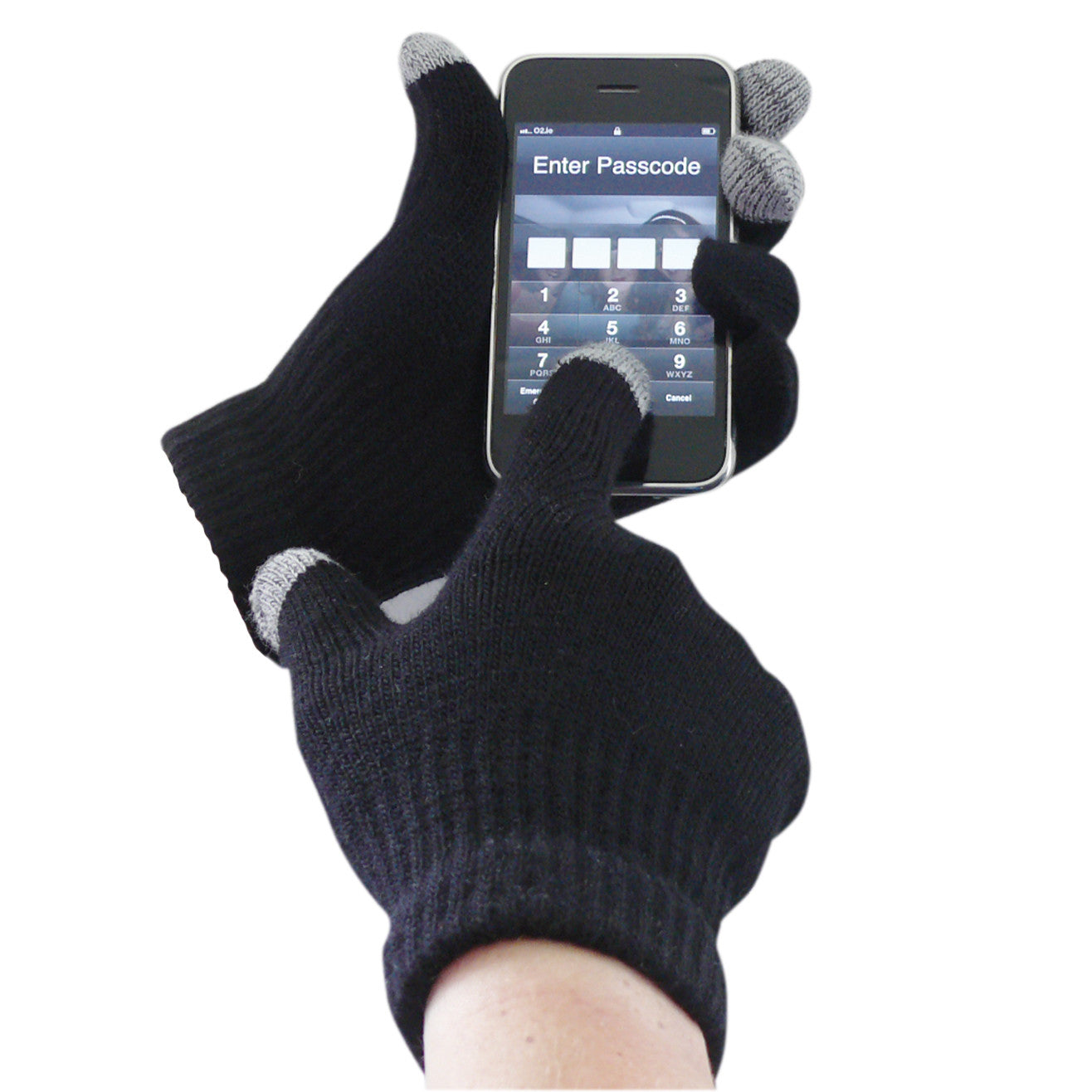 Touchscreen Knit Glove - peterdrew.com
