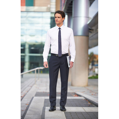 Holbeck Slim Fit Trouser Mid Grey
