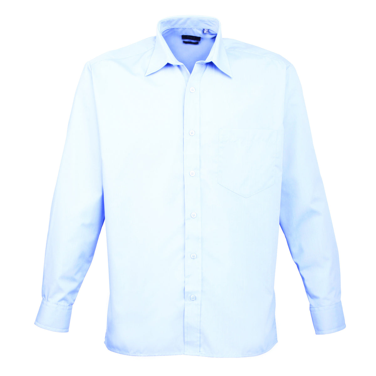 Premier Poplin Shirts (Sapphire, Turquoise, Light Blue, Mid Blue, Royal) - peterdrew.com  - 4