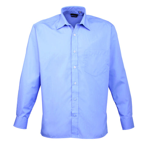 Premier Poplin Shirts (Sapphire, Turquoise, Light Blue, Mid Blue, Royal) - peterdrew.com  - 5