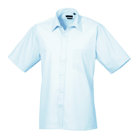 Premier Poplin Shirts (Sapphire, Turquoise, Light Blue, Mid Blue, Royal) - peterdrew.com  - 2