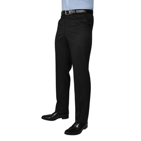 Black Label Trousers Black - peterdrew.com  - 1