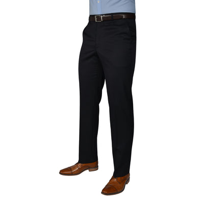 Black Label Trousers Navy - peterdrew.com  - 1