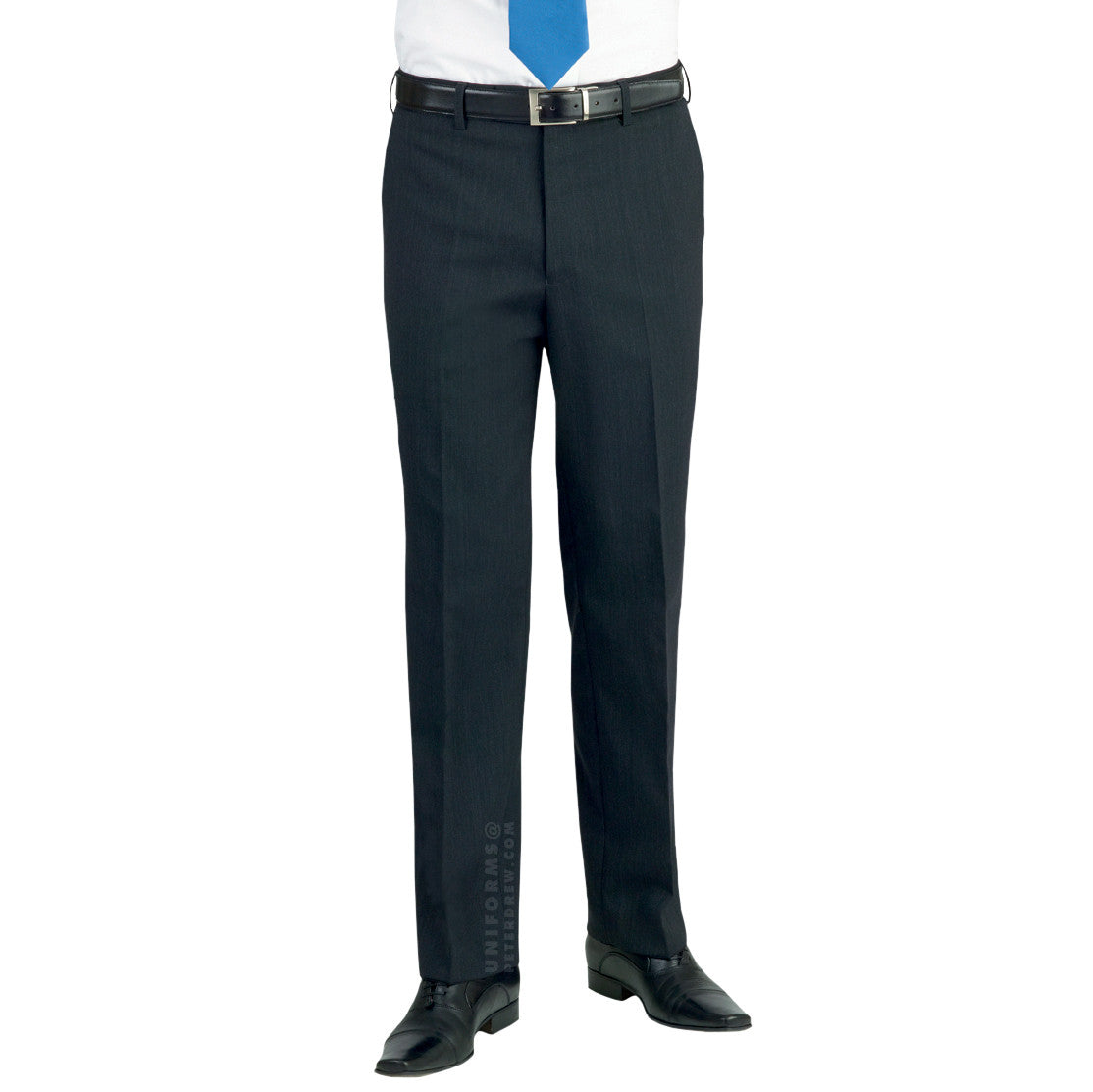 Aldwych Trousers Charcoal - peterdrew.com