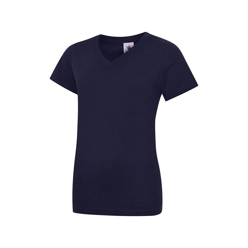 Ladies Classic V Neck T-Shirt - UC319