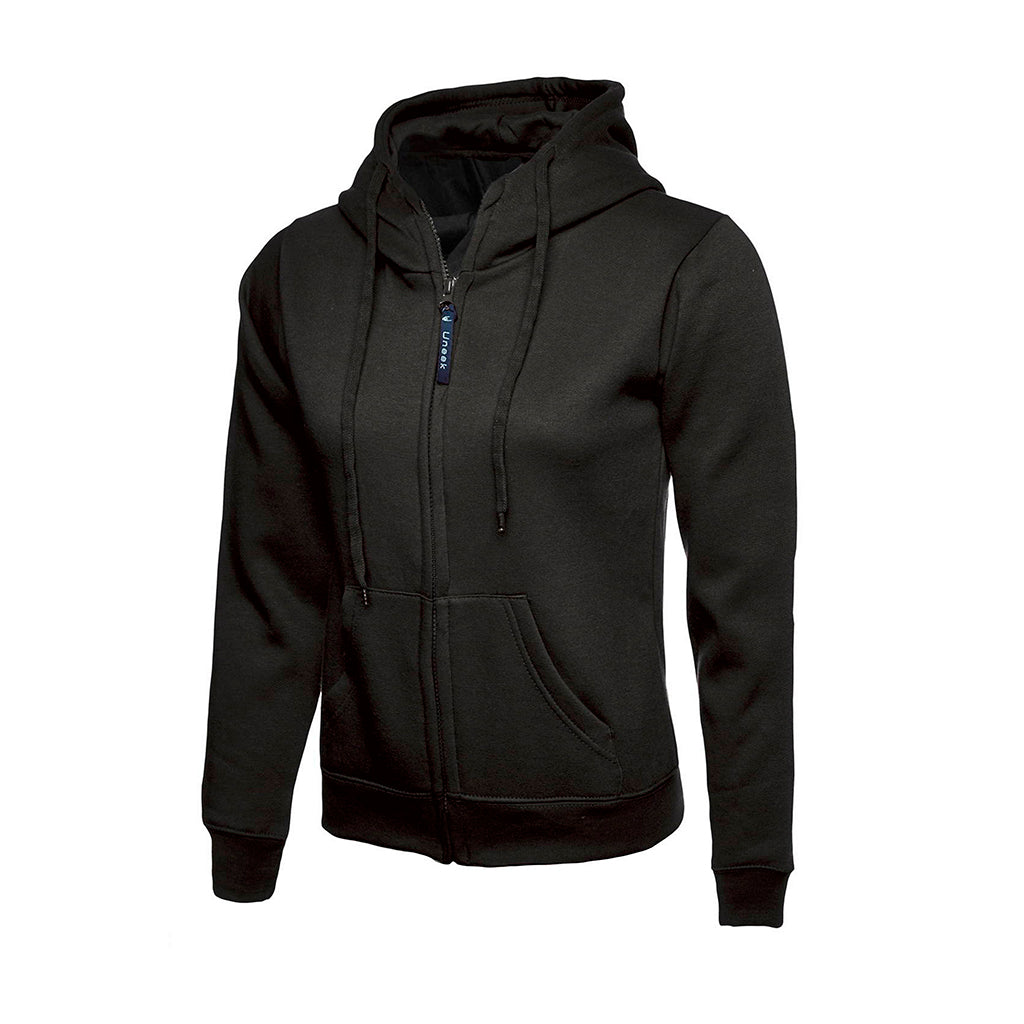 Ladies Classic Full Zip Hooded Sweatshirt - UC505