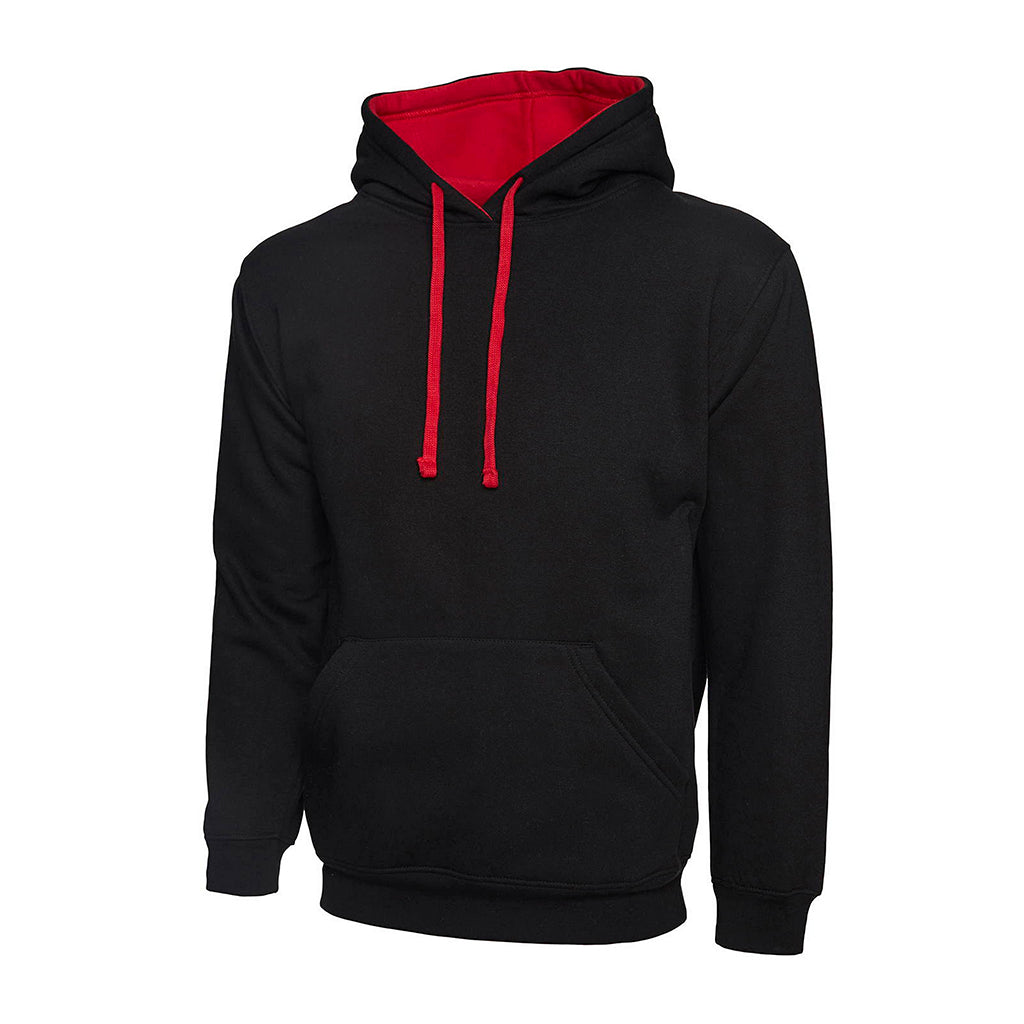 Contrast Hooded Sweatshirt - UC507