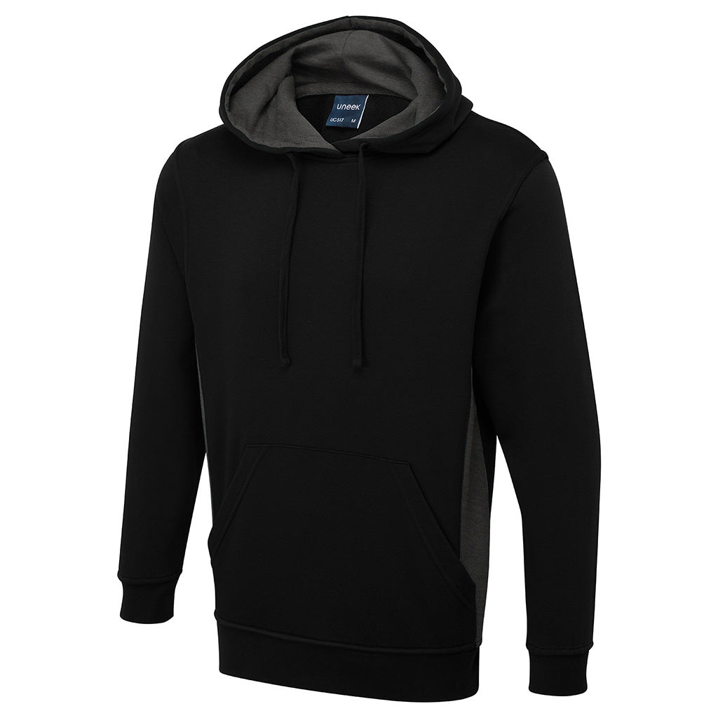 Two Tone Hooded Sweatshirt - UC517