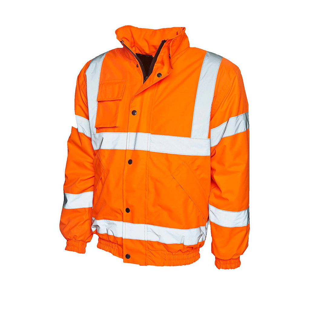 High Visibility Bomber Jacket - UC804