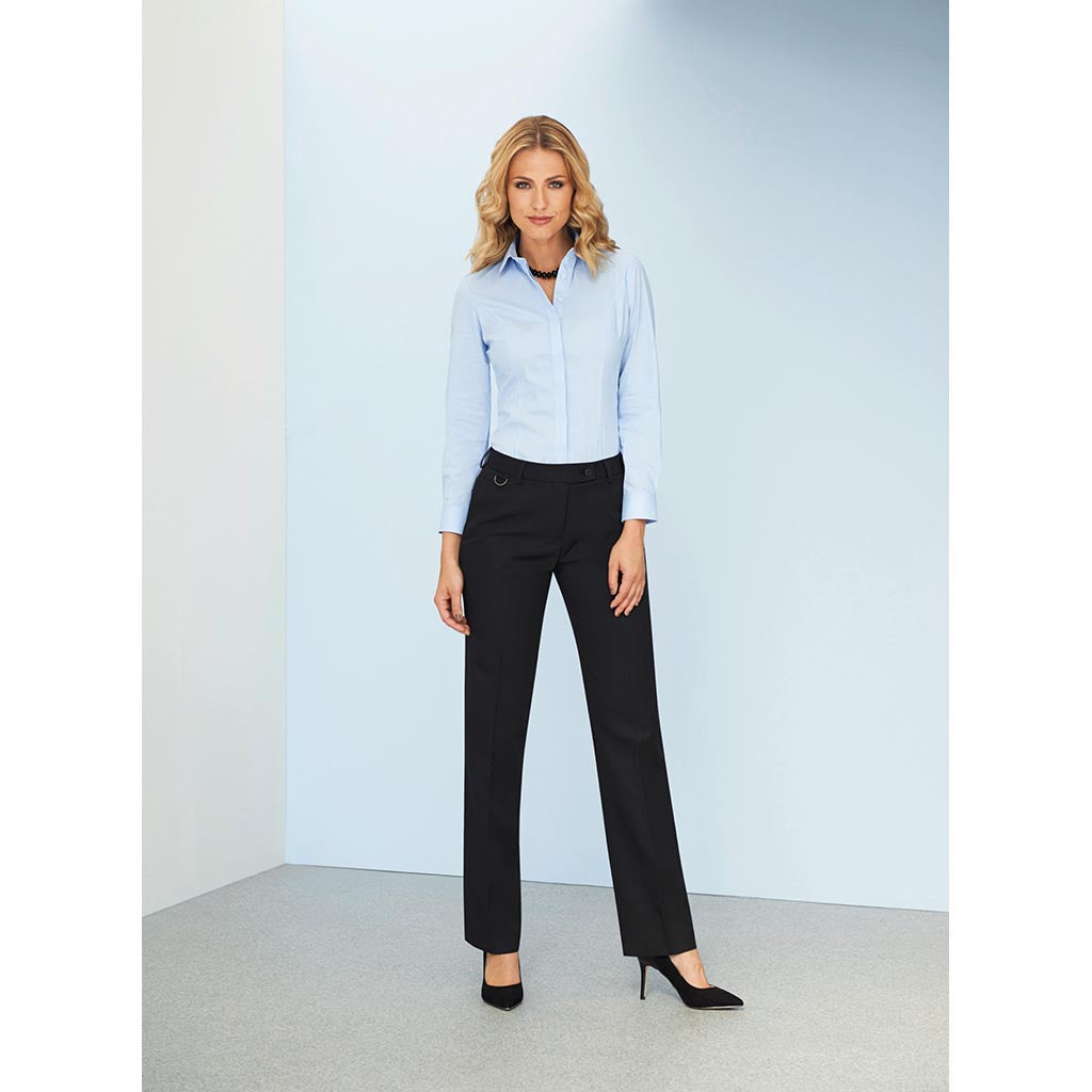 Venus Straight Leg Trouser Black