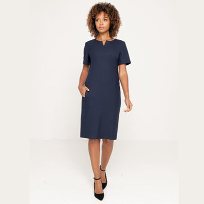 Leonarda Ladies Dress Navy