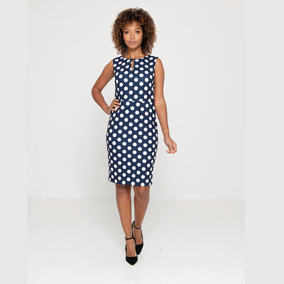 Okoye Ladies Dress Polka Polka Dot