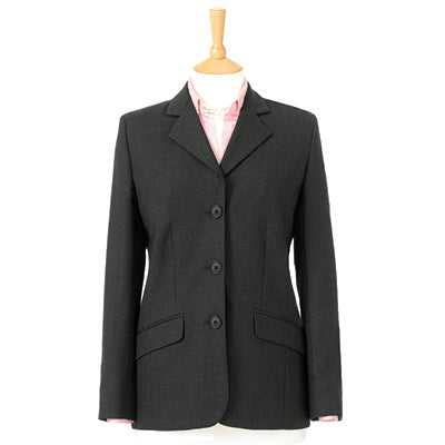 Bankside Three Button Ladies Jacket Charcoal