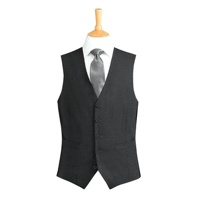 Ritz Five Button Mens Waistcoat Charcoal