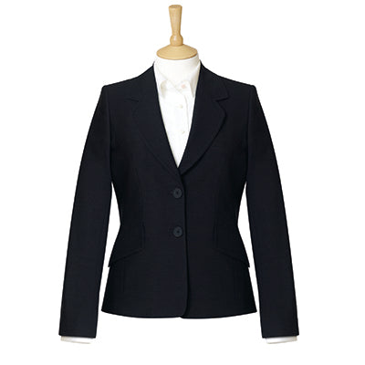 Islington Two Button Ladies Jacket Black