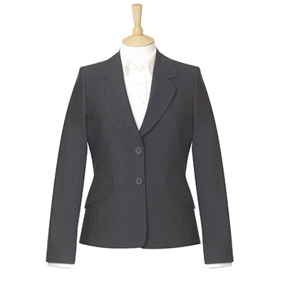 Islington Two Button Ladies Jacket Charcoal