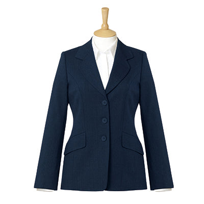 Belgravia Three Button Ladies Jacket Navy