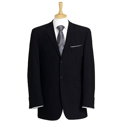Whitehall Three Button Mens Jacket Black