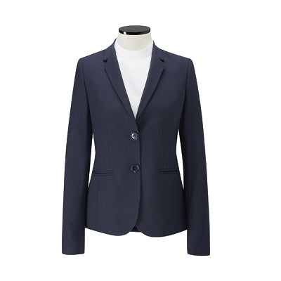 Mendelssohn Ladies Jacket Grey Grey Dot