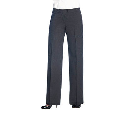 Finsbury Ladies Trousers Charcoal