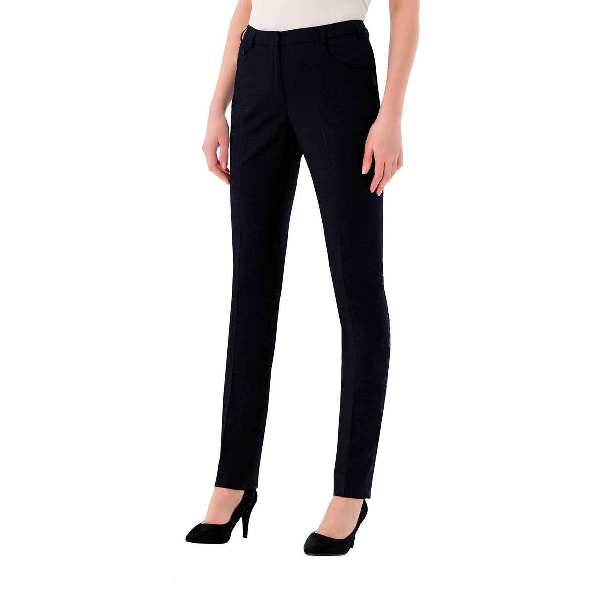Chiswick Ladies Trousers Navy