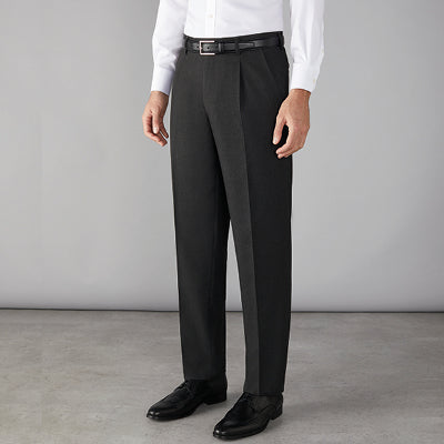 Stone Mens Trousers Charcoal