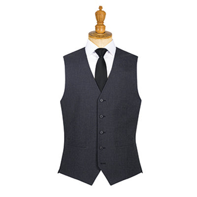 Borough Mens Waistcoat Charcoal