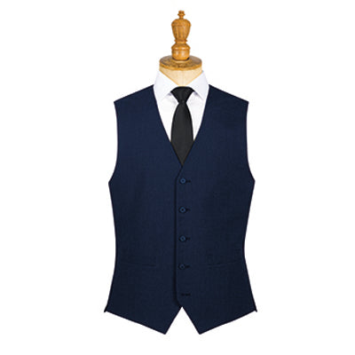 Borough Mens Waistcoat Navy